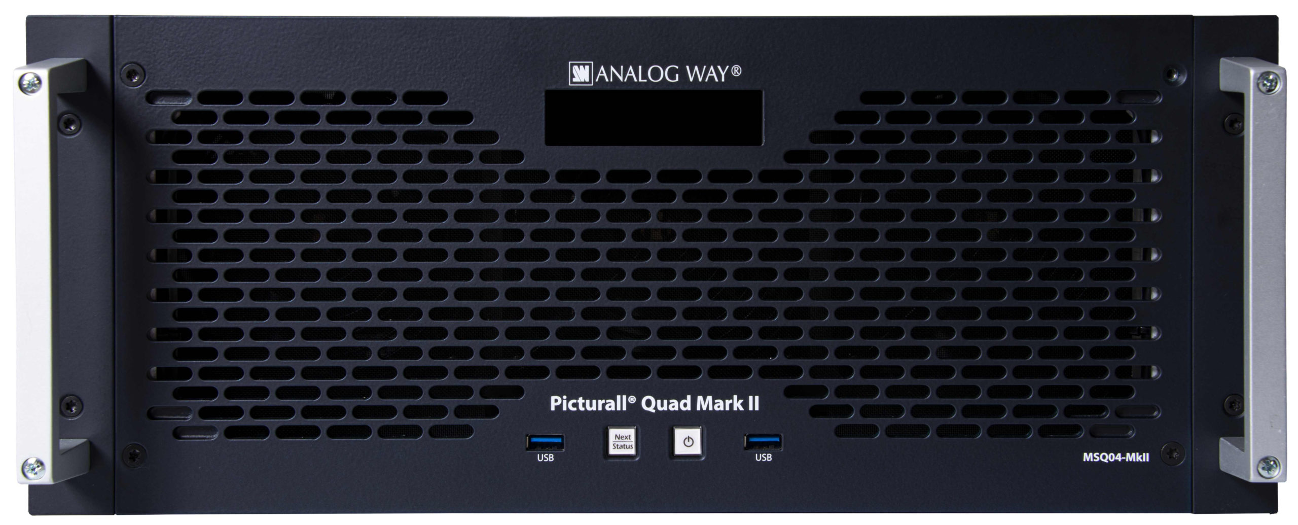 Analog Way Picturall Quad Mark 2