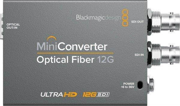 Blackmagicdesign 12G-SDI-LC fibre Transmitter
