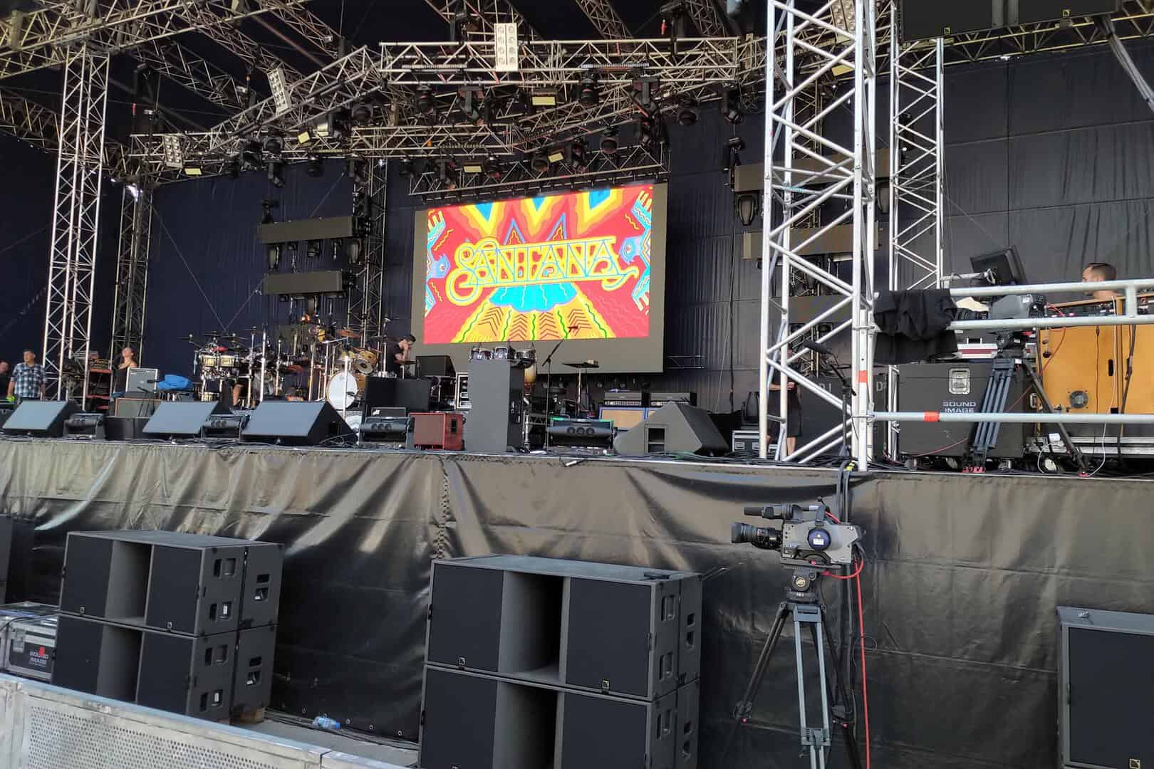 Carlos Santana Tournee
