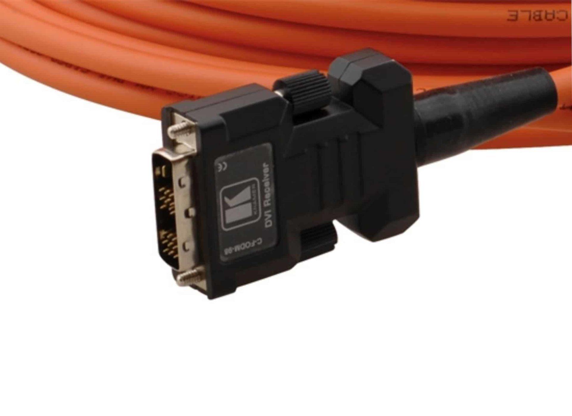 Kramer DVI fiber cable : 100 m